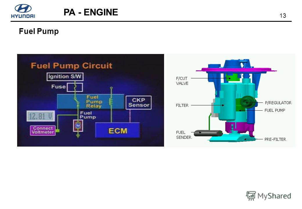 13 PA - ENGINE Fuel Pump