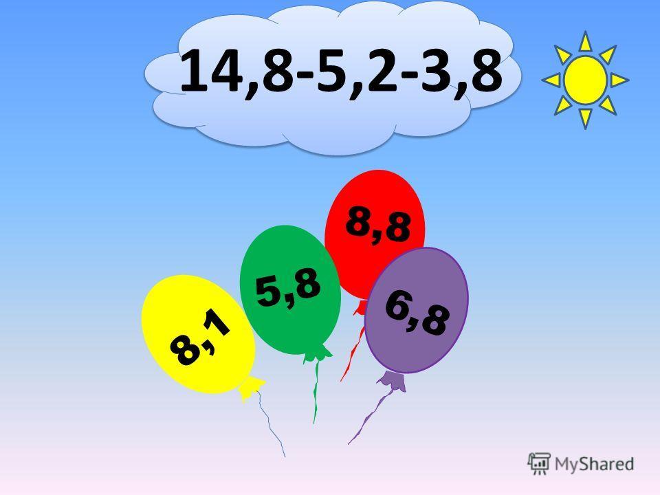 14,8-5,2-3,8 8,8 8,1 5,8 6,8