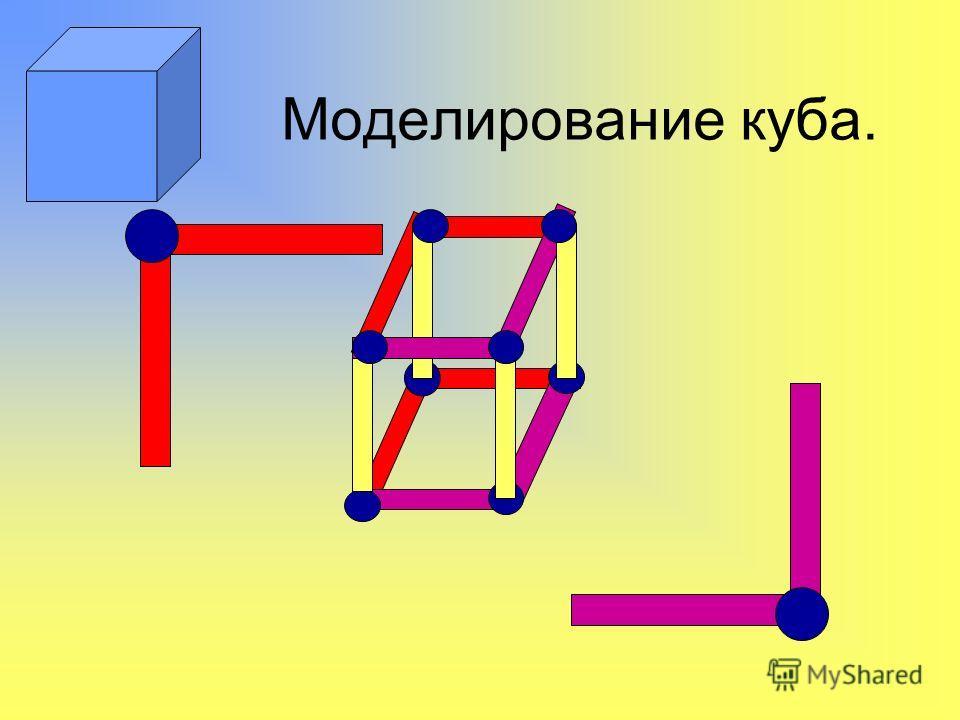 Моделирование куба.