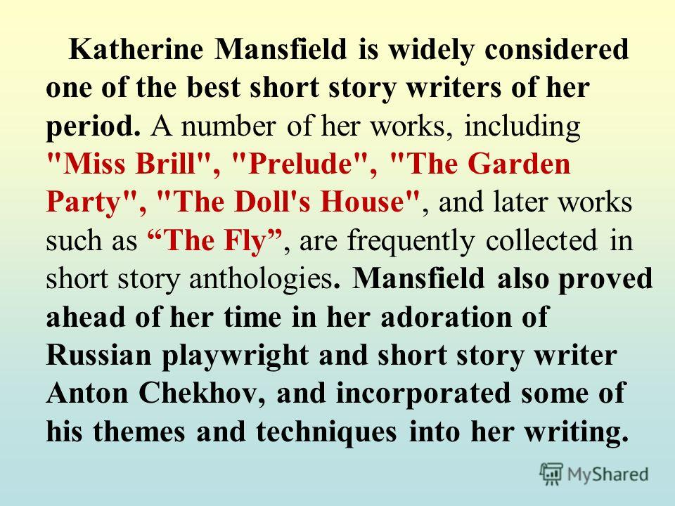 the stylistic analysis of a cup of tea by katherine mansfield All art is propaganda follows orwell as he demonstrates in piece after piece how intent analysis of a work  as a cup of tea on a  stylistic experimentation.