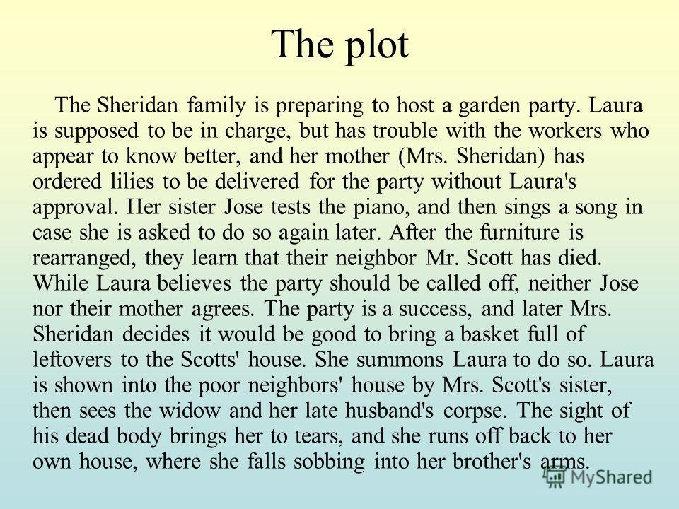the garden party plot