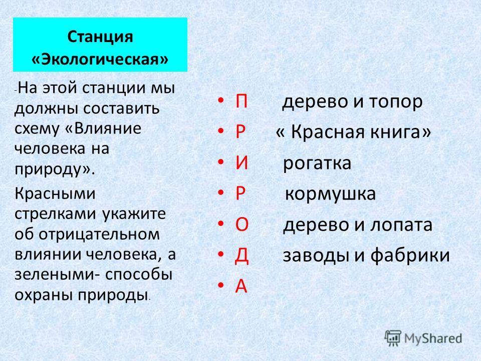 Станция «Географическая» Тамбовская область расположена в центре Европейской части России. (на карте красной стрелкой обозначено местонахождение Тамбовской области). Посмотрите на свои путевки, на них вы видите контур Тамбовской области. Назовите сос