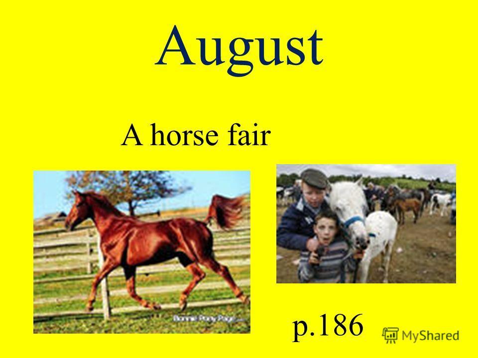 August A horse fair p.186