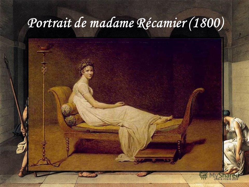 Lineva Irina © 2009 Portrait de madame Récamier (1800)