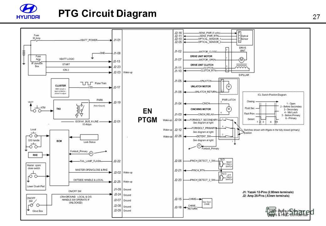 27 PTG Circuit Diagram