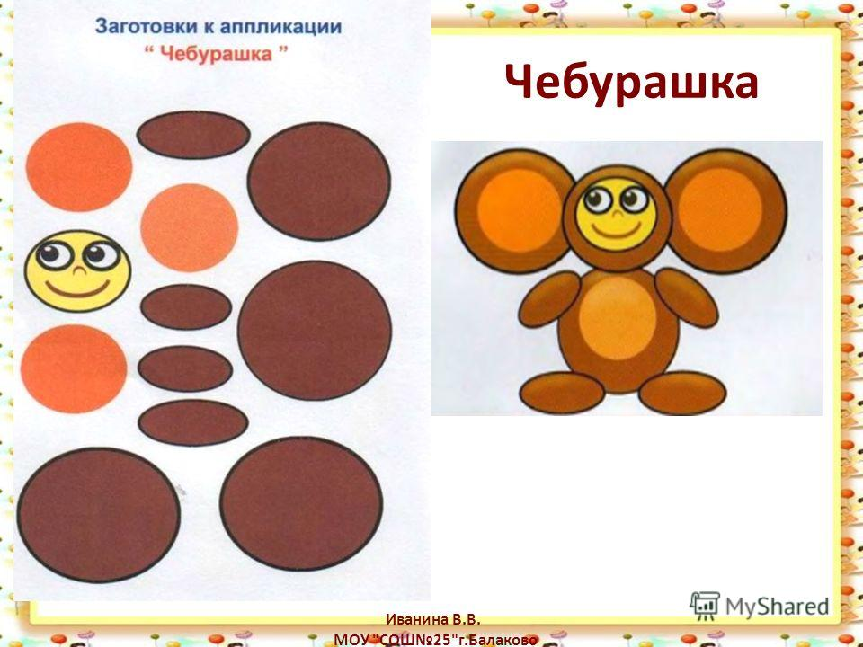 Чебурашка Иванина В.В. МОУ СОШ25г.Балаково