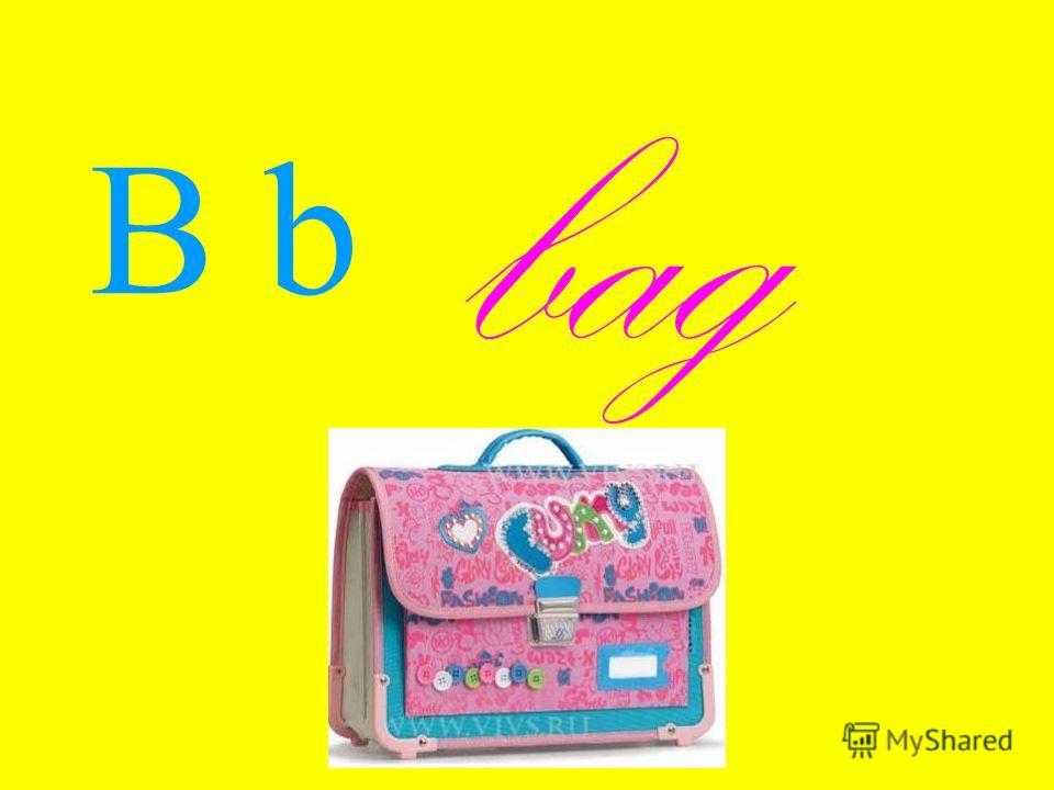 B b bag