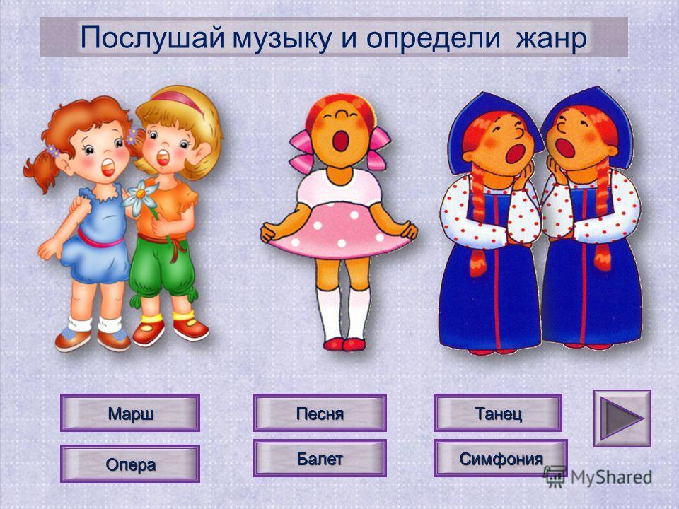 Песня ТанецМарш Симфония БалетОпера