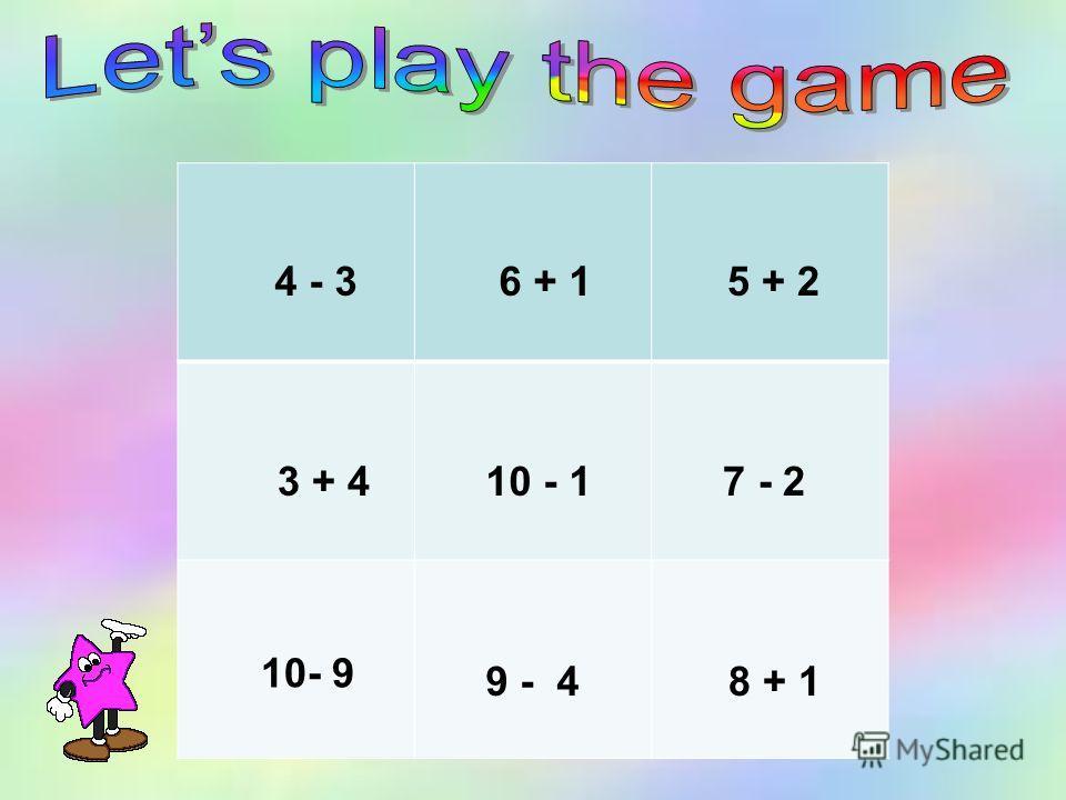 4 - 3 6 + 15 + 2 3 + 410 - 1 7 - 2 10- 9 9 - 4 8 + 1