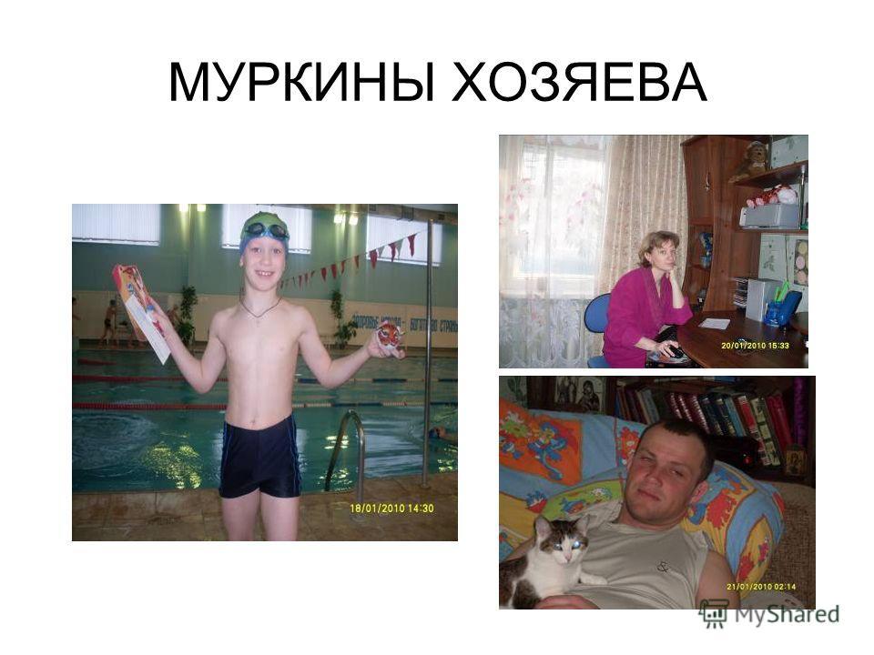 МУРКИНЫ ХОЗЯЕВА