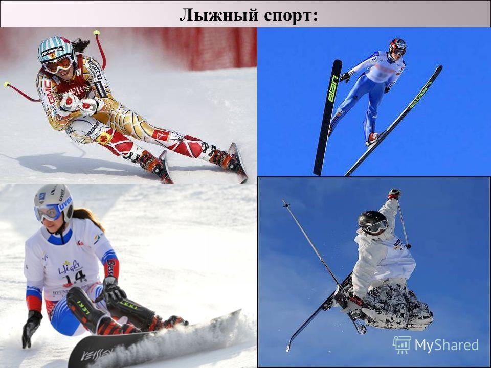 Лыжный спорт :