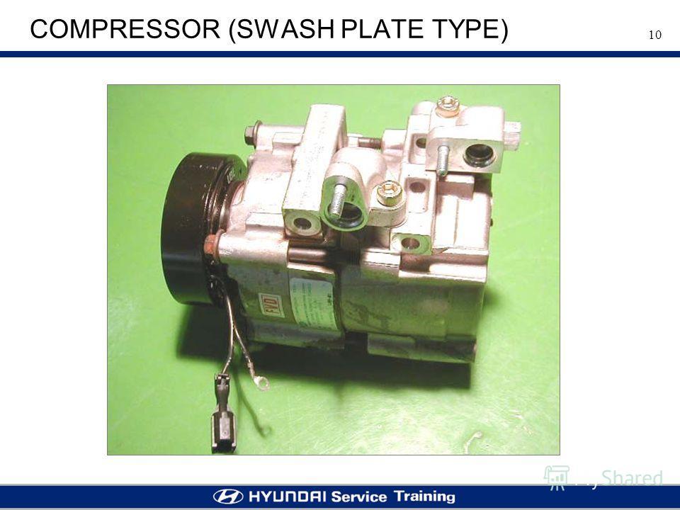 10 COMPRESSOR (SWASH PLATE TYPE)
