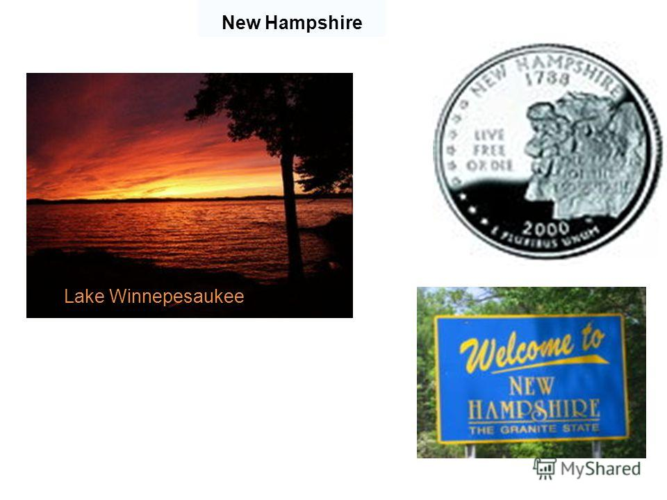 New Hampshire Lake Winnepesaukee