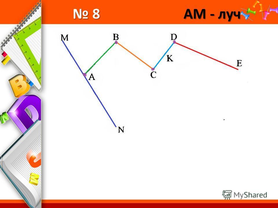 ProPowerPoint.Ru 8 АМ - луч 8 АМ - луч