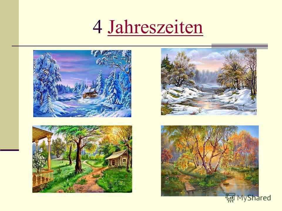 4 JahreszeitenJahreszeiten