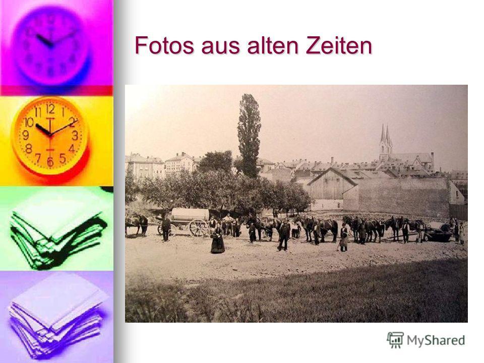 Fotos aus alten Zeiten
