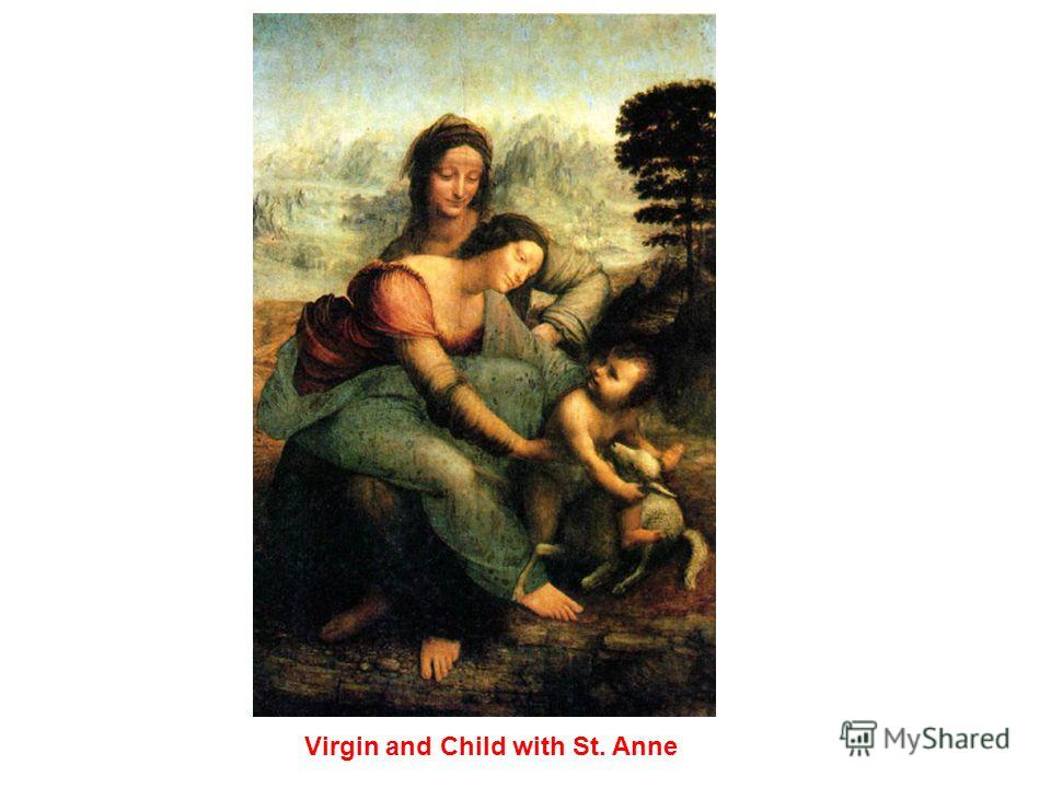 Mary, Christ, St. Anne and the Infant St. John
