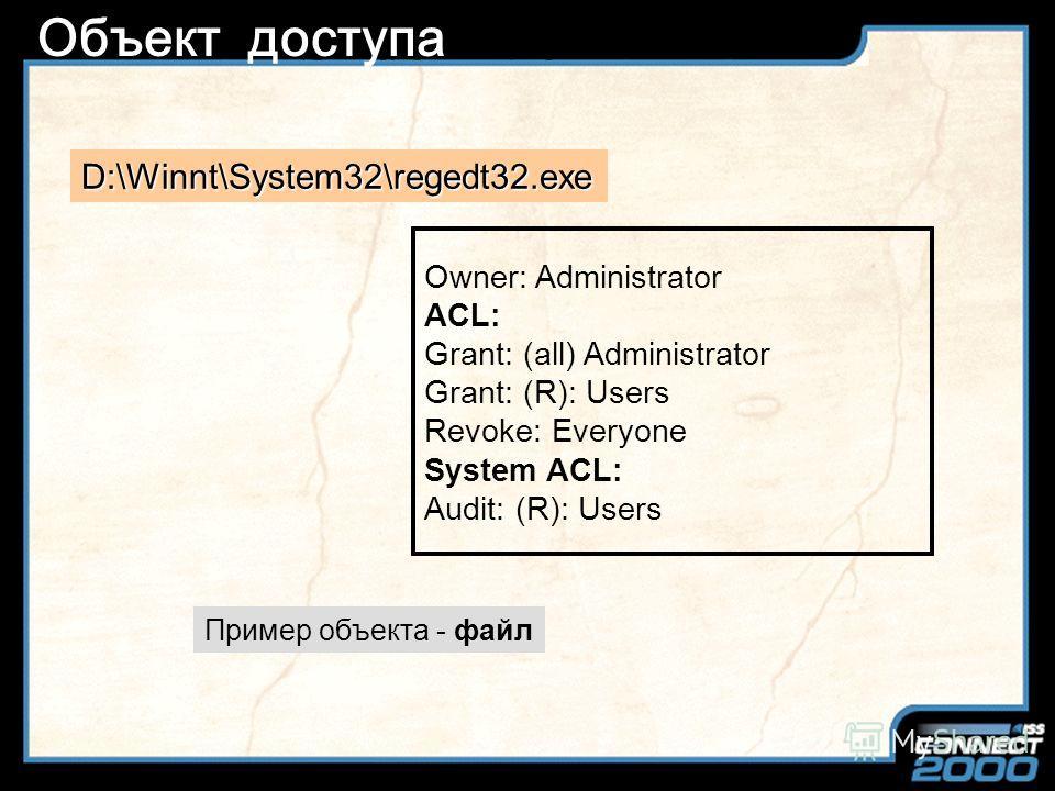 Slide Title Объект Тип данных Атрибуты Набор операций, выполняемых над объектом Объект