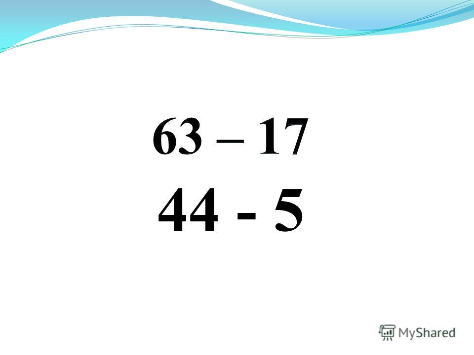 44 - 5