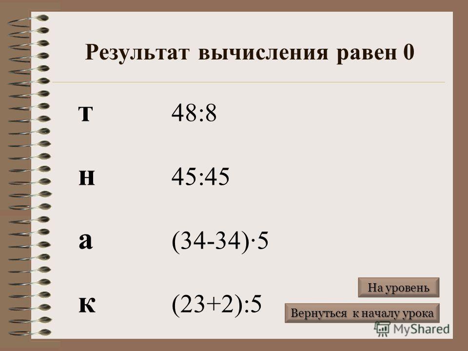 Результат вычисления больше 100 ы (168-68):2 д 45+55 у 73+37 Р178-17 Вернуться к началу урока Вернуться к началу урока На уровень На уровень