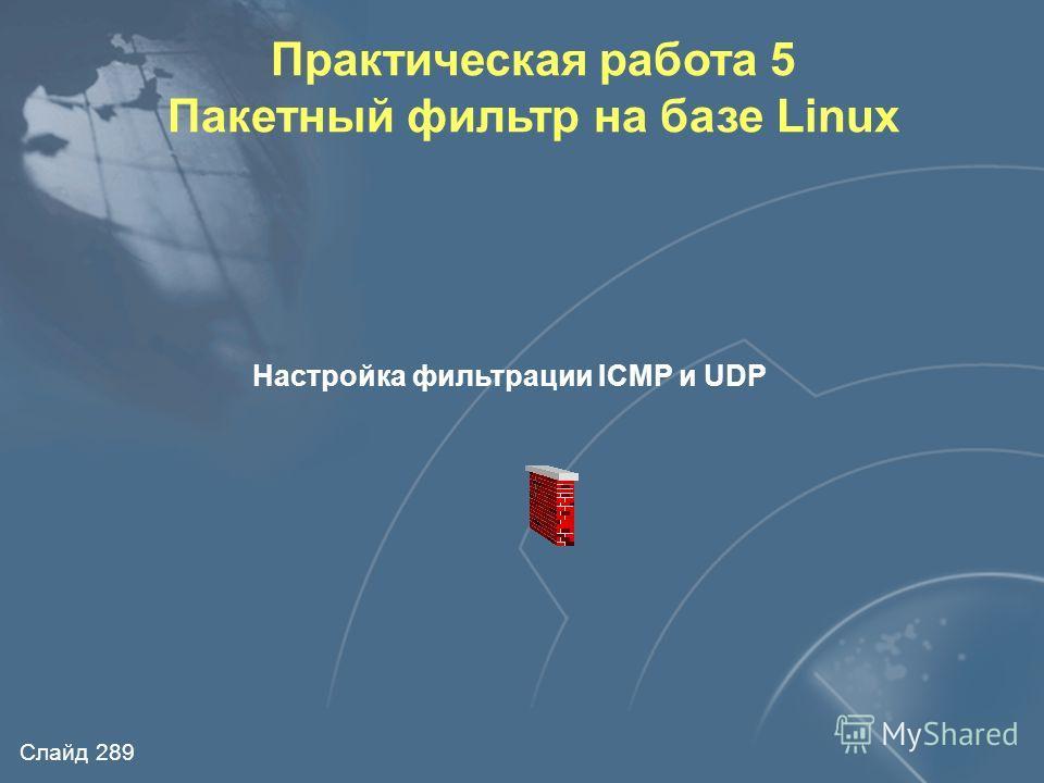 Слайд 288 Архитектура пакетного фильтра iptables NIC1 NIC2 SNAT Входящий трафик Исходящий трафик forward routing DNAT Input chain Output chain