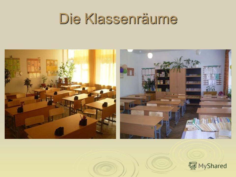Die Klassenräume