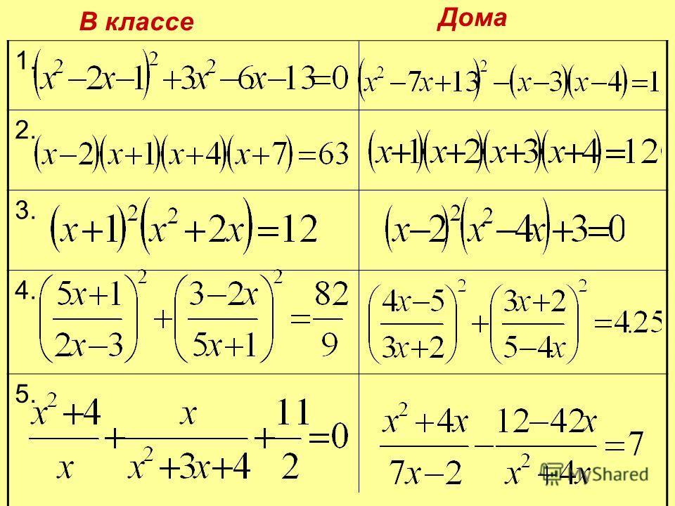 Порешаем уравнения?