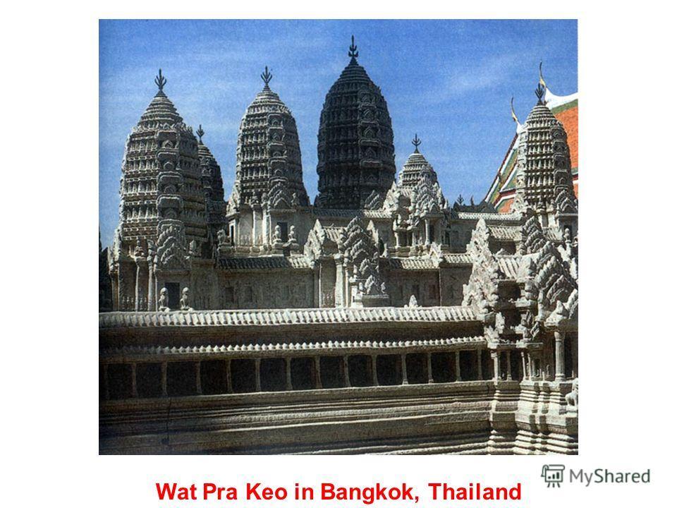 Buddha temple, Thailand