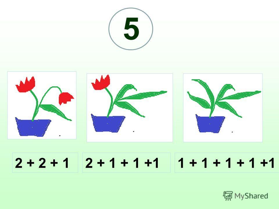 2 + 2 + 12 + 1 + 1 +11 + 1 + 1 + 1 +1 5