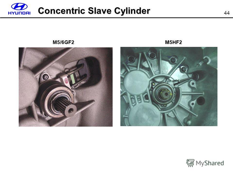 44 Concentric Slave Cylinder M5/6GF2M5HF2