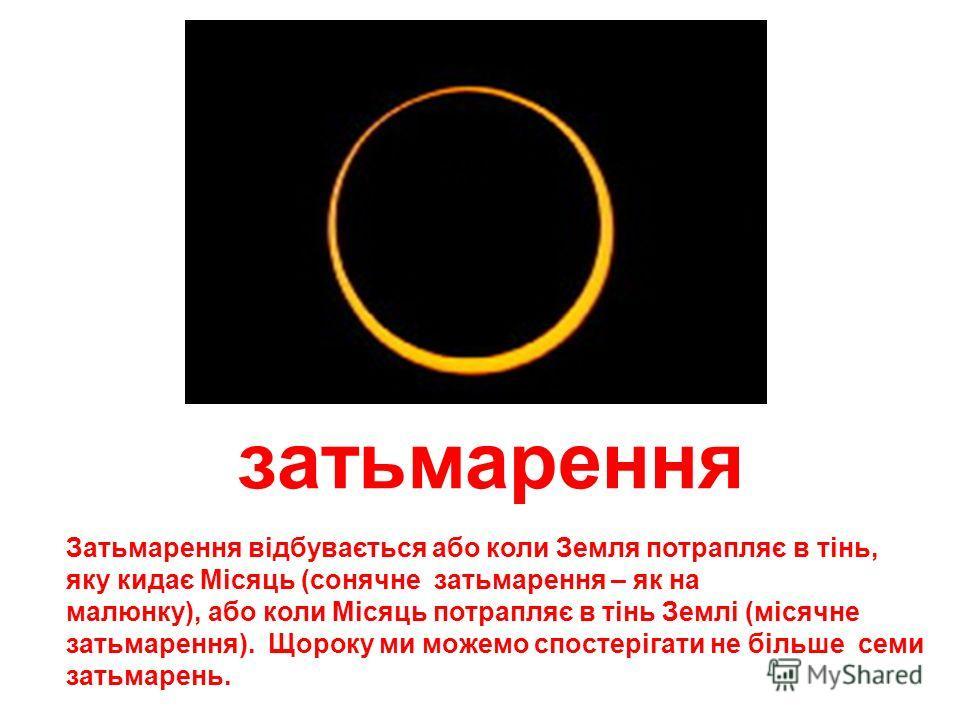 фази місяця Протягом 30 днів Місяць змінюється - то стає зовсім невидимый (фаза молодика), то перетворюється в коло (настає повня). Це відбувається тому, що при освітленні Сонцем ми найчастіше можем бачити лише окрему частину Місяця.