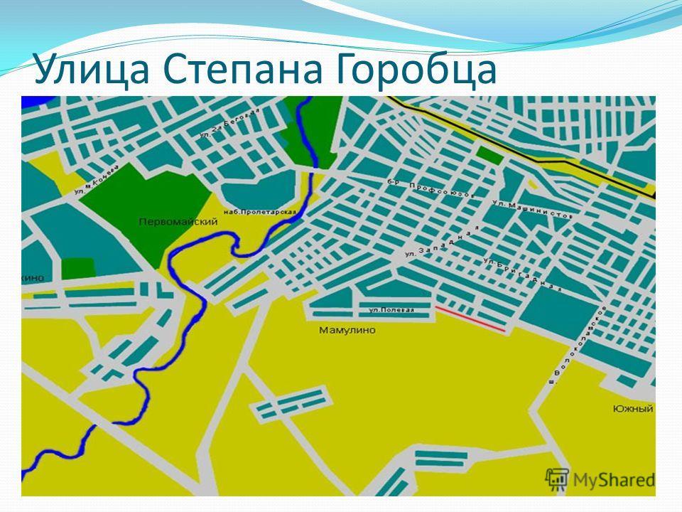 Улица Степана Горобца