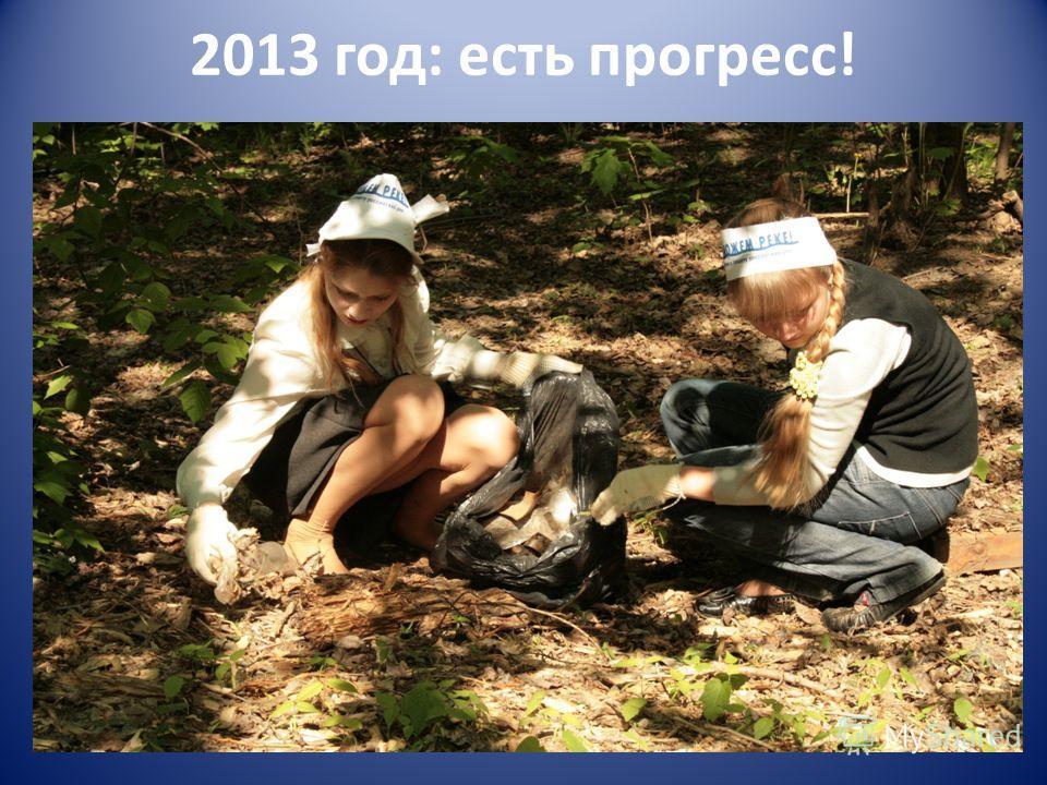 2013 год: есть прогресс!