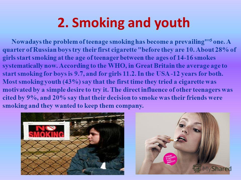 smoking problem among malaysian teenager