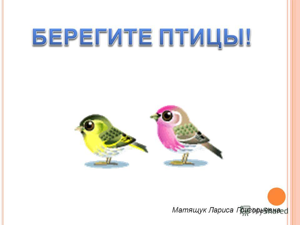 Матящук Лариса Григорьевна