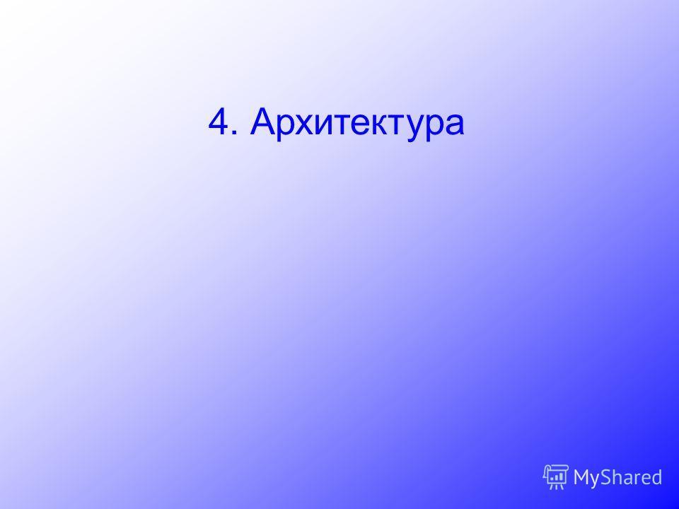 4. Архитектура