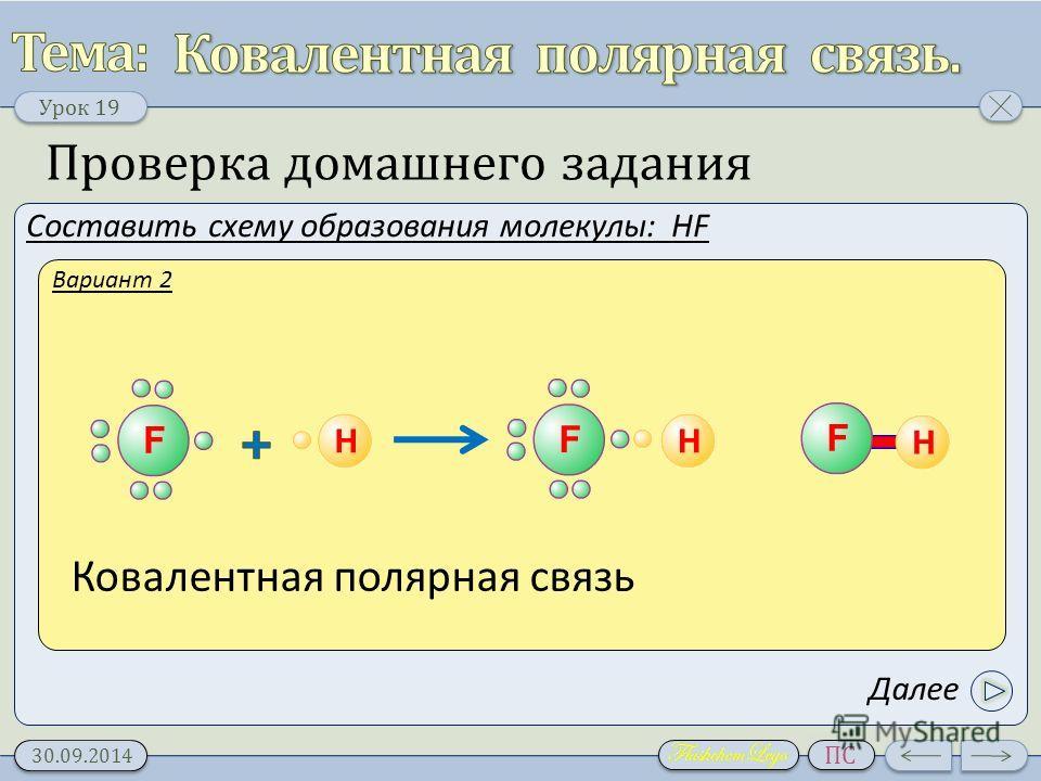 F2 тип связи и схема образования 10