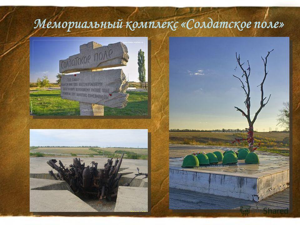 Мемориальный комплекс «Солдатское поле»