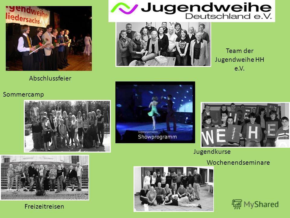 Wochenendseminare Sommercamp Abschlussfeier Freizeitreisen Team der Jugendweihe HH e.V. Jugendkurse