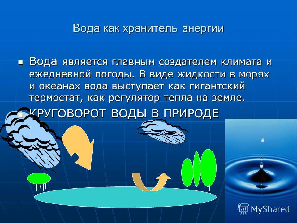 Агрегатное состояние воды