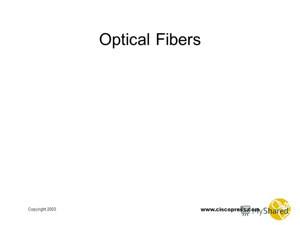 www.ciscopress.com Copyright 2003 Optical Fibers