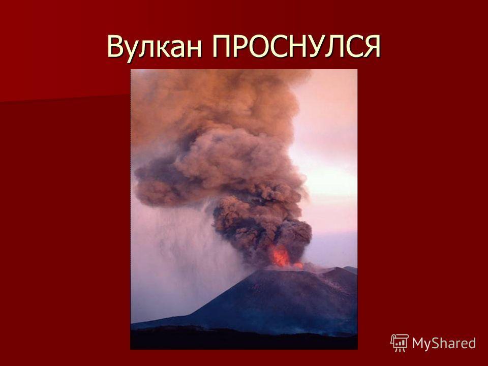 Вулкан ПРОСНУЛСЯ