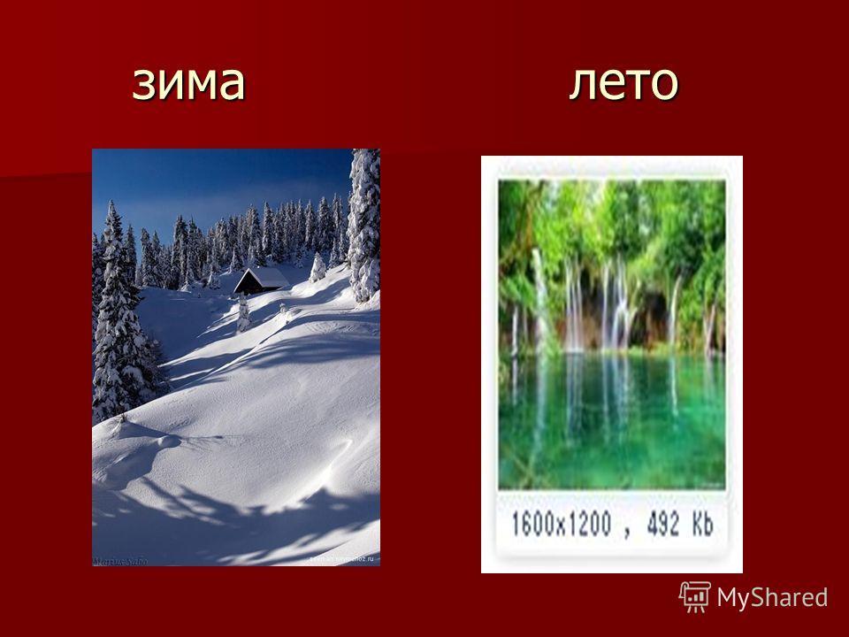 зима лето зима лето