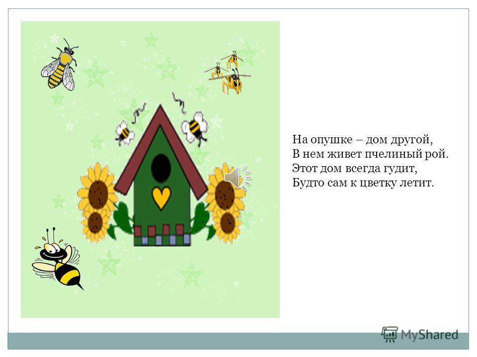 У лесного муравья Очень дружная семья. День за днем букашки Важно Строят дом многоэтажный.