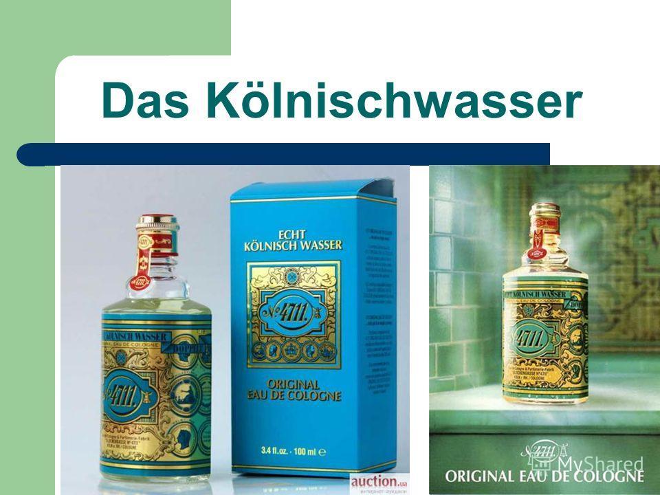 Das Kölnischwasser