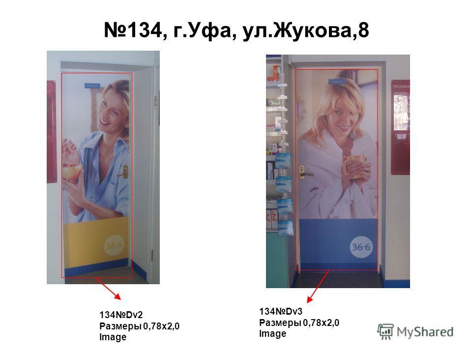134, г.Уфа, ул.Жукова,8 134Dv2 Размеры 0,78 х 2,0 Image 134Dv3 Размеры 0,78 х 2,0 Image