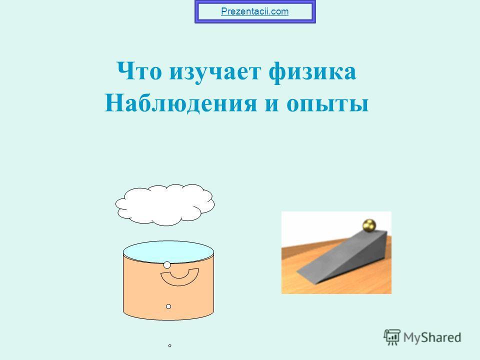 Что изучает физика Наблюдения и опыты Prezentacii.com