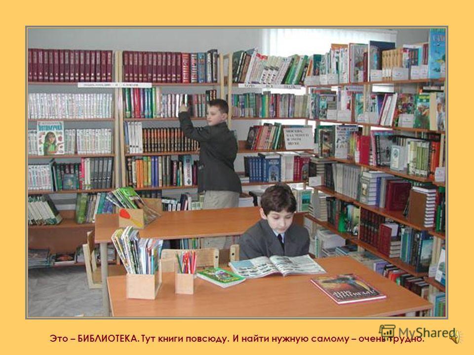 Да…у тебя очень много интересных книг…но есть место, где книг во много-много раз больше!