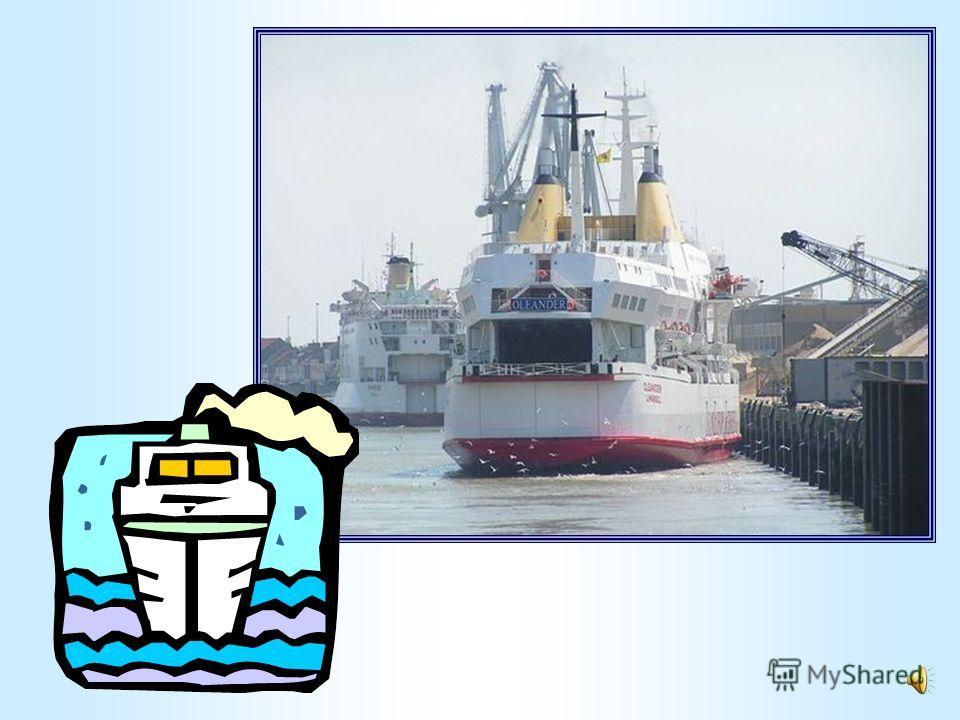 Быстро по волнам плывёт Друг океанов – пароход.