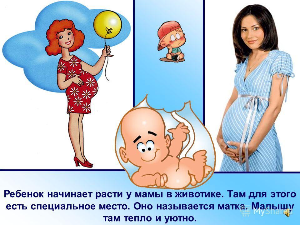 Мальчики и девочки рождаются на свет у своей мамы. У каждого человека есть мама.
